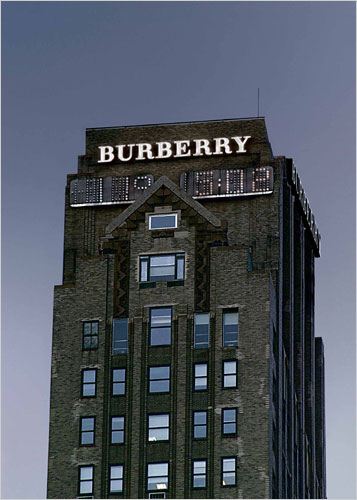 Burberry Tower, 444 Madison Avenue, New York City