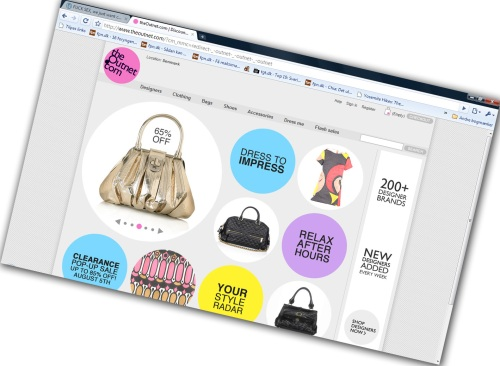 www.outnet.com - online fashion outlet