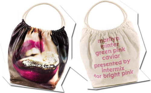 The Marilyn Minter Tote Bag