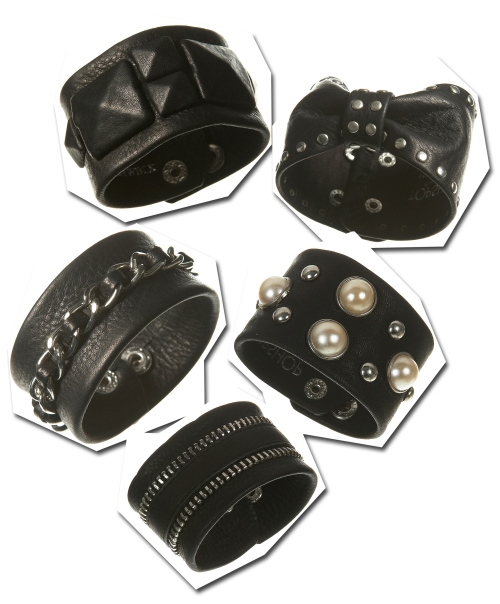 Topshop Leather Cuffs